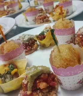Appetizers/Pica-pica Buffet - 50 PAX