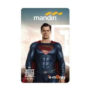 Mandiri E-Money JUSTICE LEAGUE - SUPERMAN