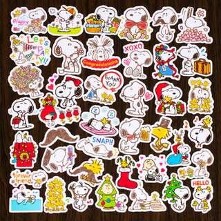 [Limited Edition] Snoopy Christmas Scrapbook / Planner Stickers #269