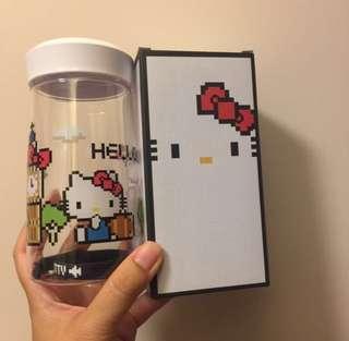 (包順豐站) 全新 Hello Kitty x Nanoblock 水樽