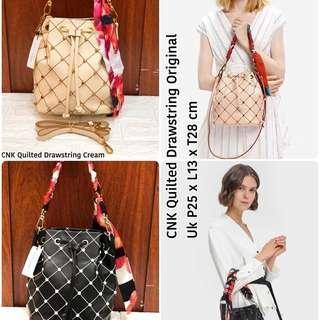 PALING MURAH!!!! Tas serut charles and keith triple fungsi slingbag tas import wanita