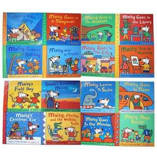 A Maisy First Experiences Books Set of 16 books