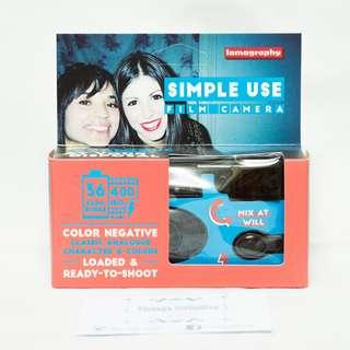 Lomography Simple Use Color 400 Disposable Camera with filters (36 shots)