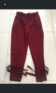 celana panjang wanita // long pants // bahan kulot legging jogger jeans
