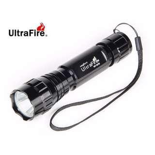 {MPower} UltraFire WF-501B 美國名廠 Cree XM-L U2 1000流明 LED Flashlight 電筒 - 原裝行貨