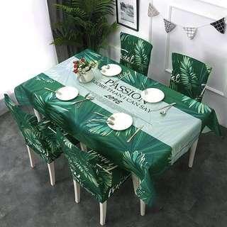 Set Alas Meja dan Kerusi  (M,L,XL)