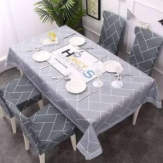 Set Alas meja makan dan kerusi