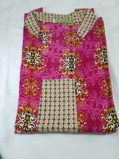 Batik Kerja Blouse batik, Baju wanita