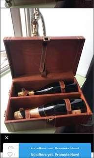 Wine case $45