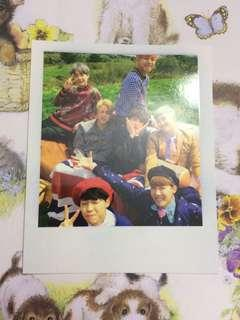 BTS Group photocard from Young Forever KPOP