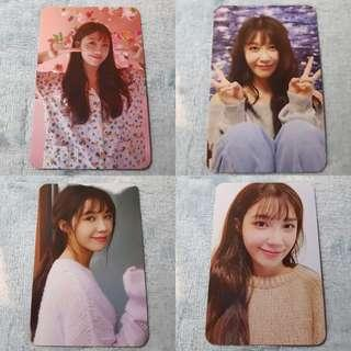 [PO] APINK Eunji Hyehwa Official Photocards Set
