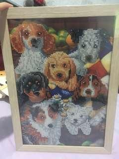 Diamond Painting - Dogs