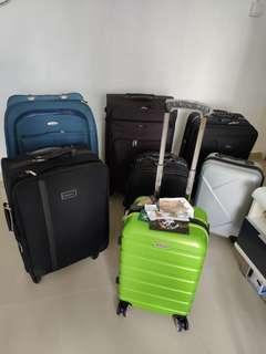 🎇❴清倉價❵ 90%新 大細名牌行李箱數個