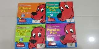 Clifford Phonics Fun- Pack 1 to Pack 4