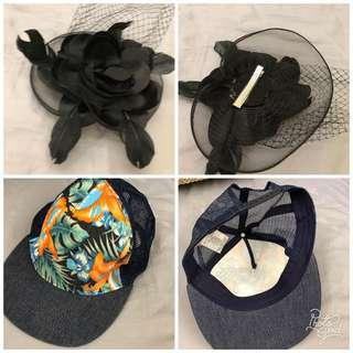 🚚 Net帽子髮飾(1個50元)