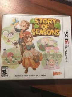story of seasons 3DS