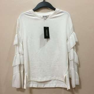 New:Ever New white pullover