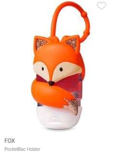 Bath and Body Works FOX PocketBac Holder