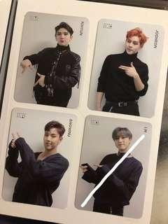 [WTS/WTT] MONSTA X SPECIAL CARD