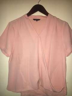 Connexion blouse pink XXL
