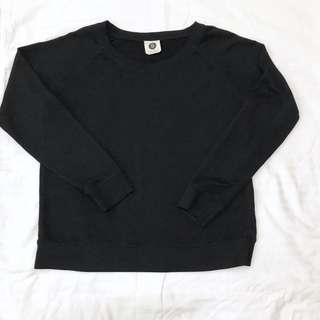 Cotton on black sweater