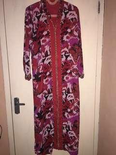 long dress muslim vintage