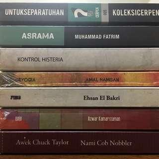 Lejen Press Fixi Buku Hitam Novel