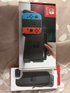 Nintendo Switch Neon Blue & Red (Local set)