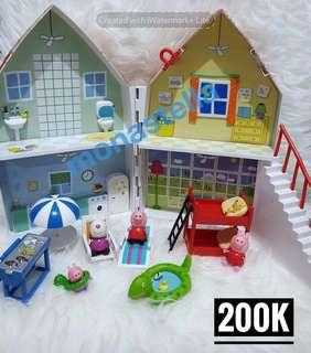 PL Peppa Pig Deluxe House - mainan