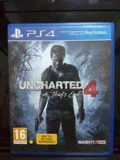 PS4 Ganes - Uncharted 4