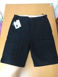 Carhartt WIP / Troops Shorts / Black / W32 / 100% new