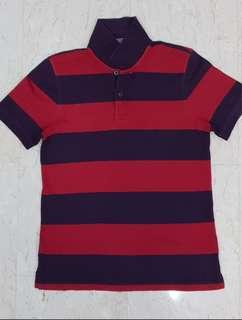 Men Red Polo Tee