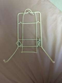Iron n Ironing Board Holder. Comes with screws