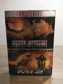 Mission Impossible DVD Boxset New