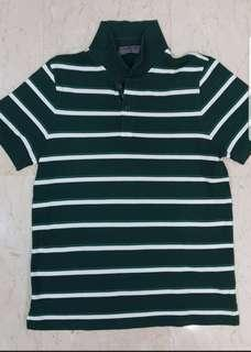 Men Green Polo Tee