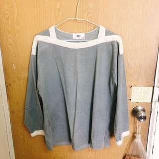 🚚 韓貨店的灰色上衣