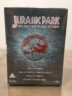 Jurassic Park Trilogy Ultimate Collection DVD Boxset New