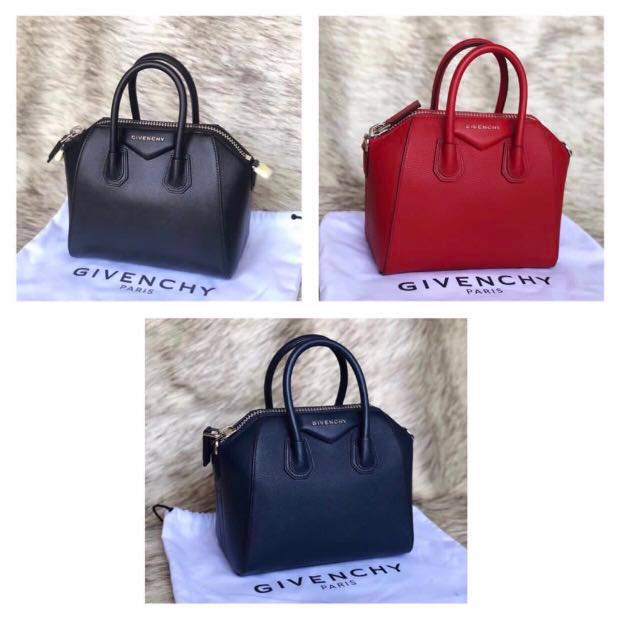 💯💕 Authentic Givenchy Mini Antigona Grained Leather 78cff73fb5586