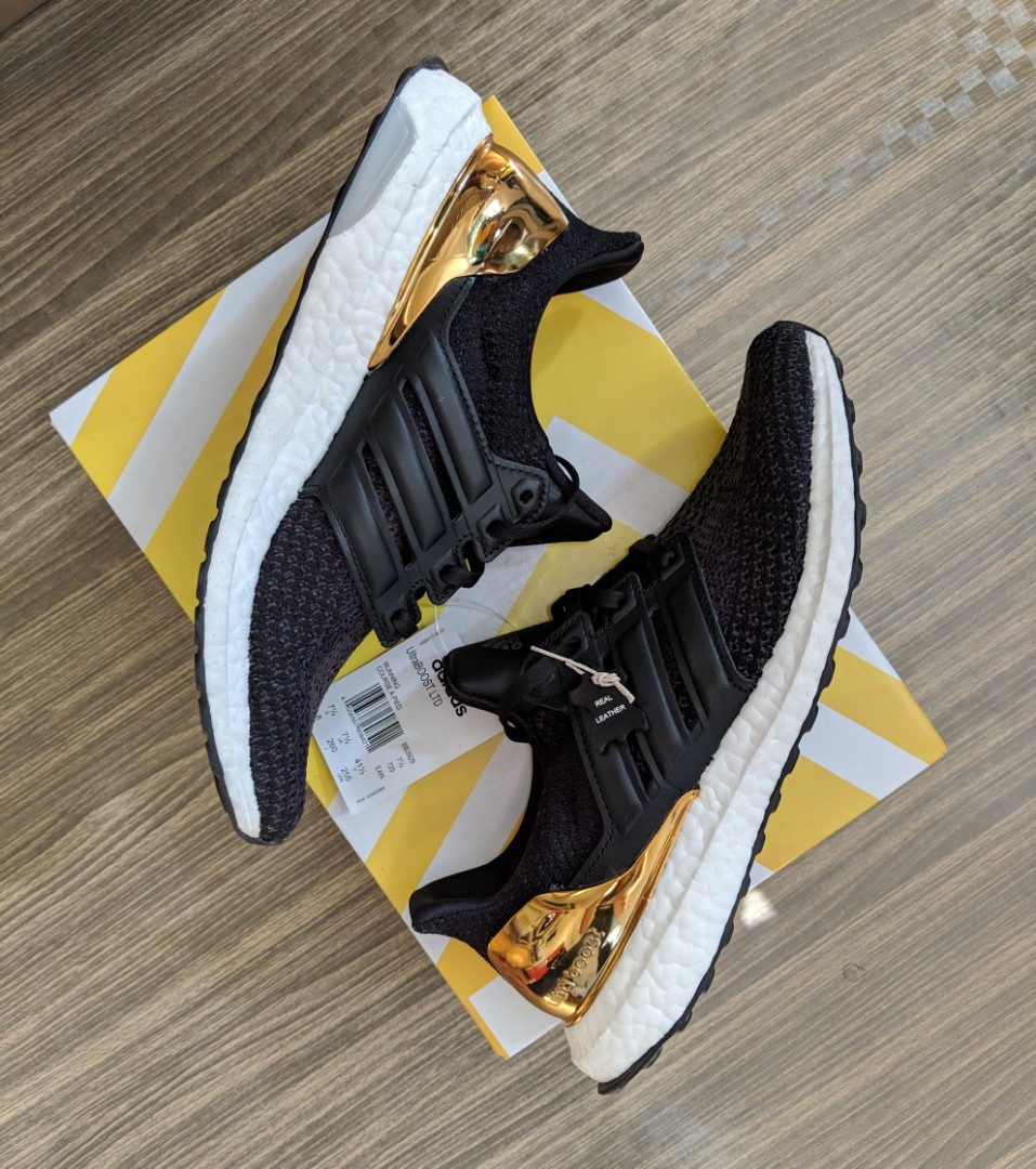 big sale cce71 f74f9 Adidas Ultraboost Olympic GOLD, Mens Fashion, Footwear, Sneakers on  Carousell