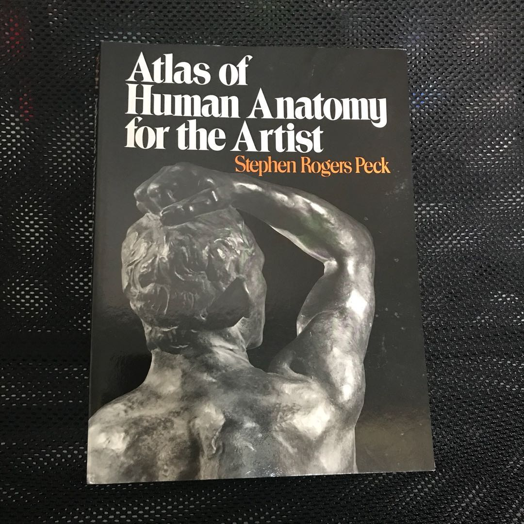 Atlas For Human Anatomy For The Artist Books Stationery Non