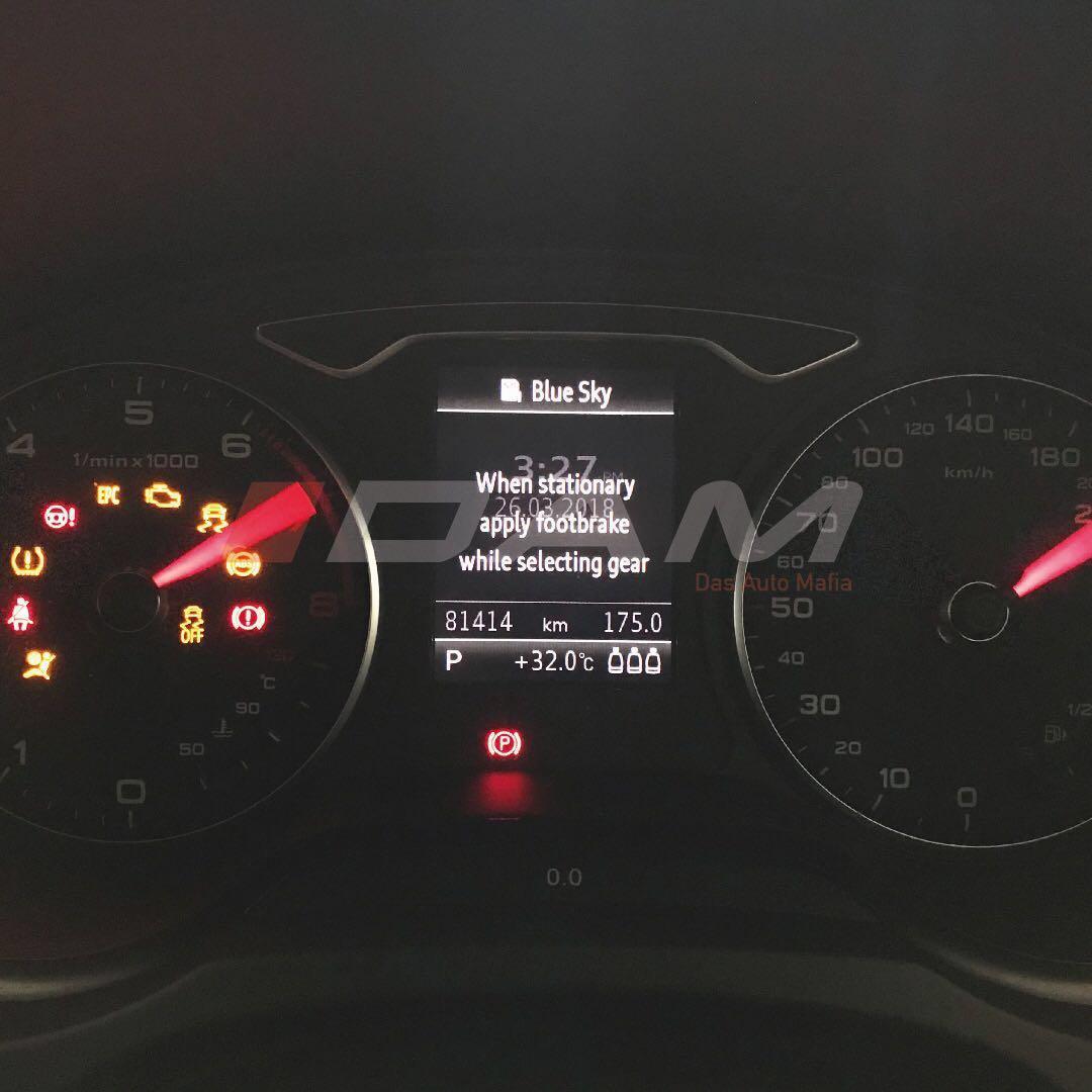 Audi A3/S3/RS3 8V Diagnostic Functions VCDS, Car Accessories