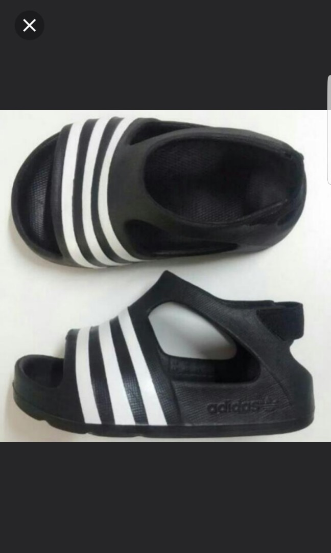 f49e8e623cd6d authentic ADIDAS kids originals adilette play slides
