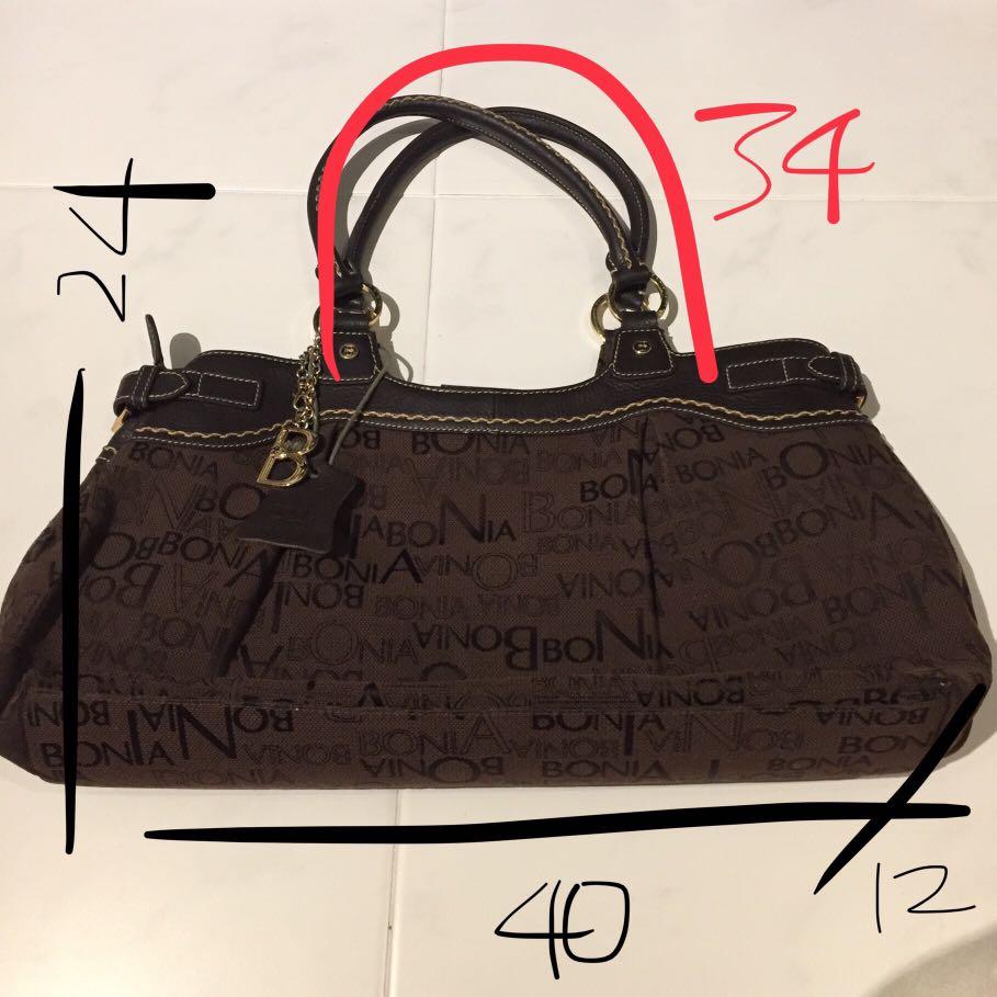 4e7645db97 Authentic Bonia preloved classic handbag, Women's Fashion, Bags ...