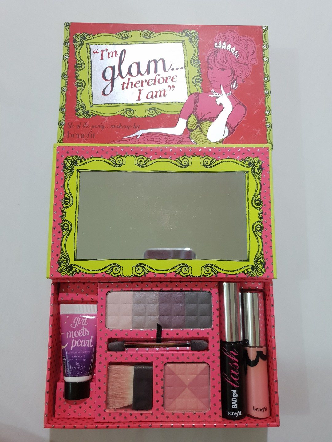 Benefit Im Glam Therefore I Am Health Beauty Makeup On Carousell Operation Pore Proof Kit