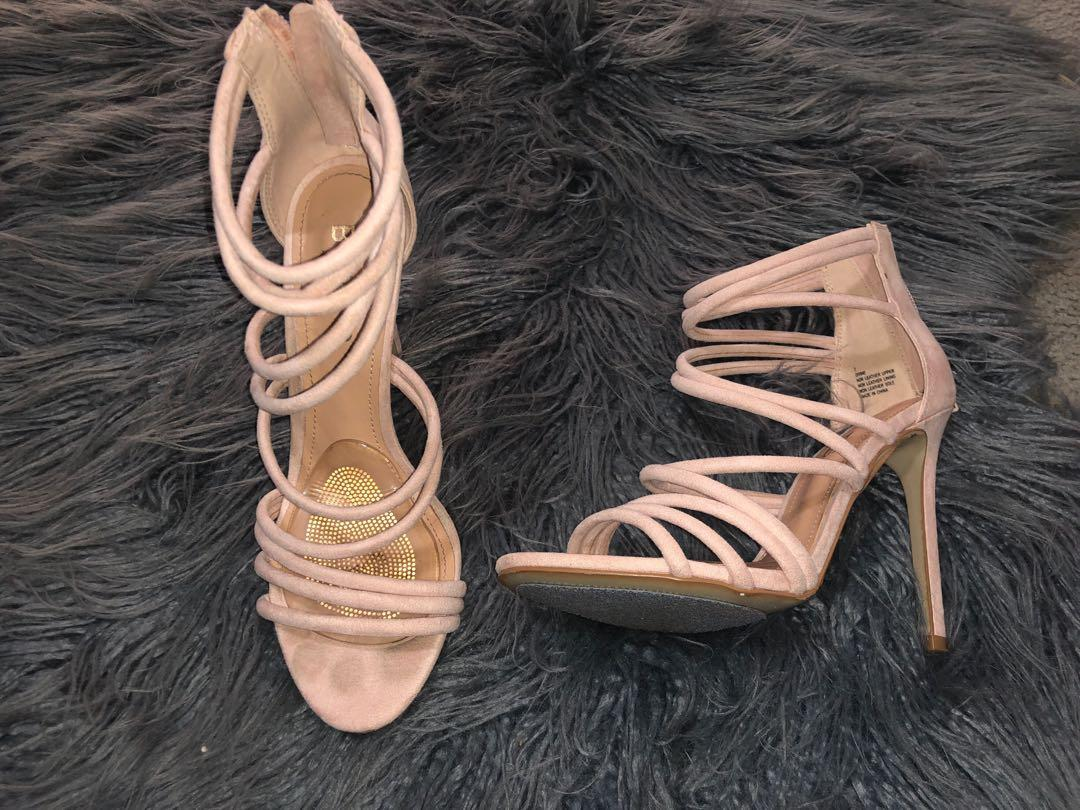 Betts nude strappy heels