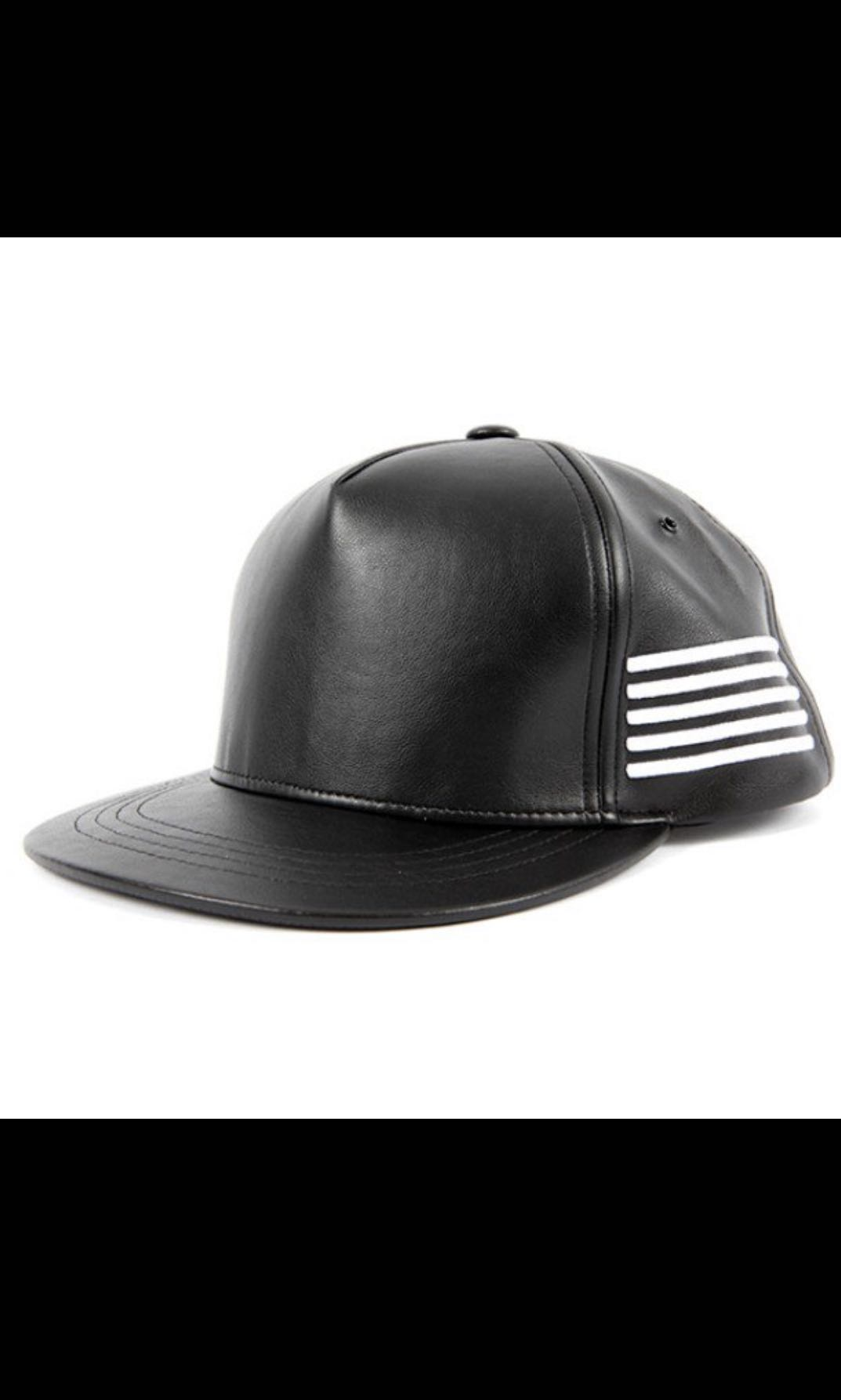 51aba4c7bfb Big Bang Faux Leather Cap (MADE)