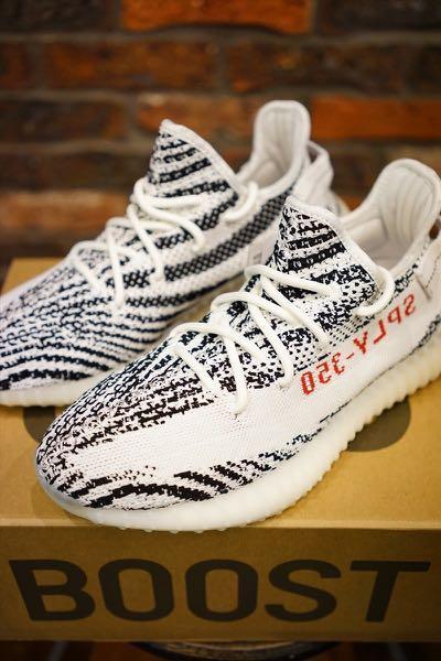 bd3936eba4c7b BNIB Yeezy Boost 350 V2 Zebra