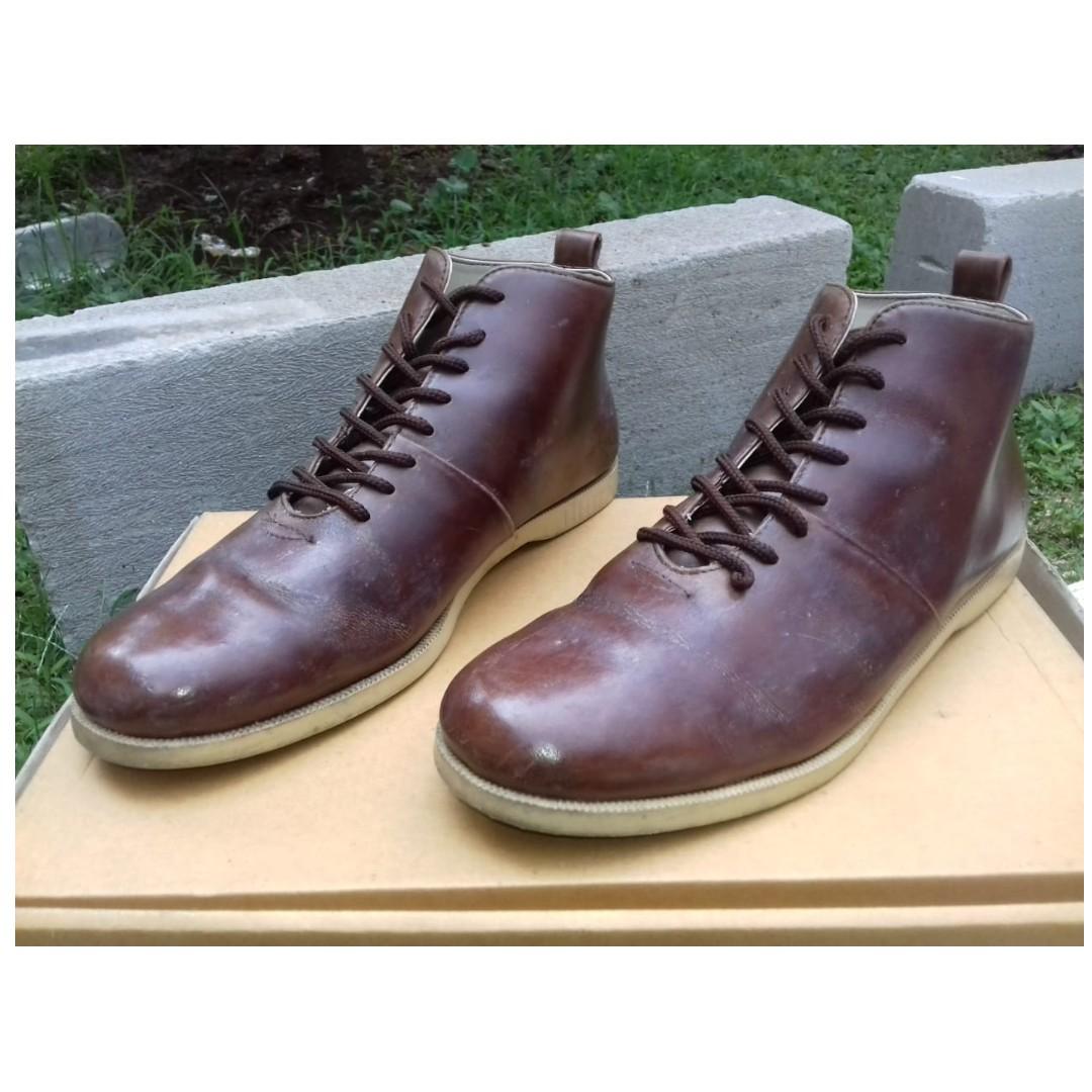 """Brodo """"Signore EL Vintage Brown Cream Sole"""" Size 39 423bcb21a9"""