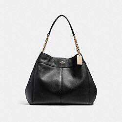 0499a8c98f73 Coach Lexy Chain Shoulder Bag (Black) F27594