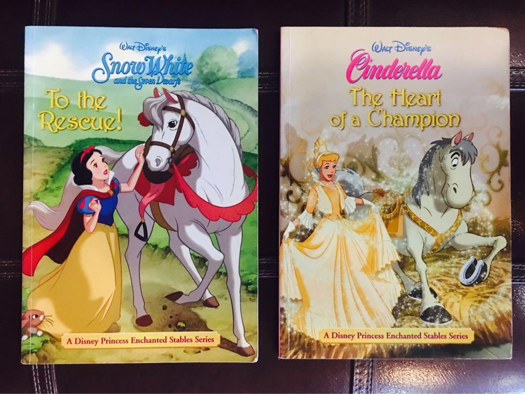 Disney Snow White and Cinderella Story Books, Books